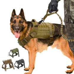Kyпить Tactical Dog Harness with Handle No-pull Large Military Dog Vest US Working Dog на еВаy.соm