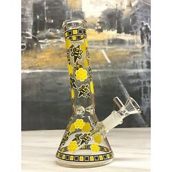 Kyпить 11'' Holographic Glass Water Pipe Bong Thick Bubbler W Ice Catcher Hookah на еВаy.соm