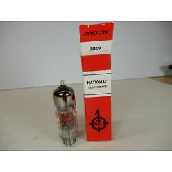 National Electronics 6414 or 6829 Vacuum Tube Marked 6201 Triple Mica Tall