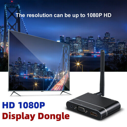 Tschechische RepublikMiraScreen Display Dongle Full HD 1080P VGA Airplay Wireless WiFi Receiver M0H4