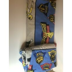 Kyпить Vintage Springs Power Rangers 1994 Twin Sheet Set Fitted and Flat only B15 на еВаy.соm
