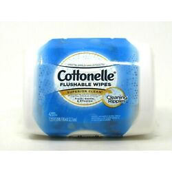 Kyпить Cottenelle White Tub Dispenser with 42 Flushable Wipe Cloths Sealed на еВаy.соm
