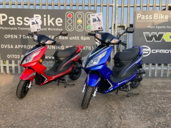WK BIKES TTR 50 - 50CC AUTOMATIC SCOOTER TWIST AND GO MOPED - New 2021 Colours
