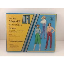 AFI Magic Fit Master Pattern for Pants Designing with Dusan American Fashion Ins