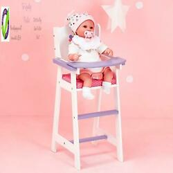 Olivia'S Little World - Princess Little Baby Doll Furniture - Baby High Chair ,