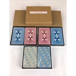 6 Decks Vintage 1998 Playing Cards Sealed YPO & Alcoa w/ plastic boxes