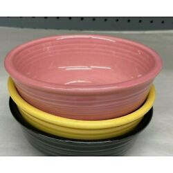 1st Quality NEW Fiesta 14 oz Cereal Bowl and imperfections Fiestaware HLC