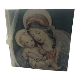 Kyпить Terra Traditions Photo Album Mother And Baby Madonna And Child Ribbon Unused на еВаy.соm