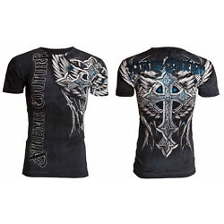 Kyпить XTREME COUTURE by AFFLICTION Men's T-Shirt PANTHER Biker MMA на еВаy.соm