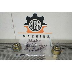 Shinko Electric BO-6 Motor DC30V 9.5W New Old Stock (Lot of 2) See All Pictures