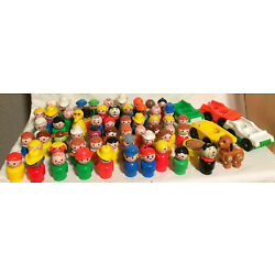 Kyпить You Choose Vintage Fisher Price Little People 60+ Different Figures! Sesame St+ на еВаy.соm