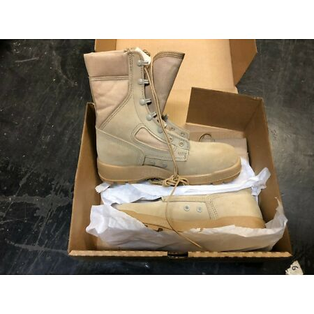 img-US Gi Mc Rae Desert Combat Boots Hot Weather Flame Resistant Flight Use Size 8 R