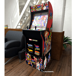 Kyпить Arcade1Up X-Men VS Street Fighter Video Arcade Game Machine with Riser на еВаy.соm