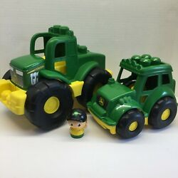 Kyпить MEGA BLOCKS SET OF 2 JOHN DEERE FARM EQUIPMENT WITH DRIVER на еВаy.соm