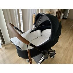 Kyпить Cybex Priam Lux Carry Cot (Premium Black/Blue color), GREAT CONDITIONS на еВаy.соm
