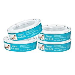 Kyпить Neutrashield Diaper Pail Refill Bags, Fits All Diaper Genie Pails - 4 Pack на еВаy.соm