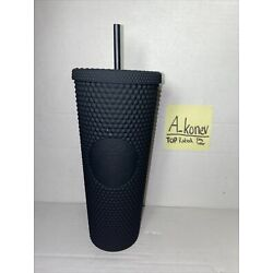 Kyпить Starbucks Matte Black Studded Tumbler Soft Touch Bling New Release 2021 Cup Limi на еВаy.соm