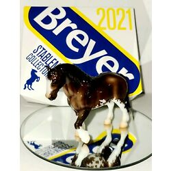 Kyпить Breyer Exclusive 2021 Stablemate Club 1st Release Atticus GLOSSY In Hand NEW на еВаy.соm