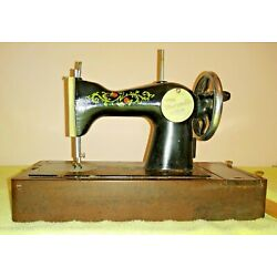 Kyпить Vintage Marbled Case Childs Toy Sewing Machine Toy box USSR, Very Good Condition на еВаy.соm