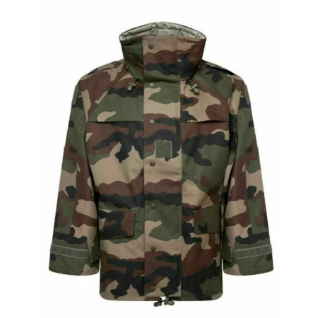 img-Genuine French Army CCE Goretex Camo MVP Waterproof Jacket Military Camouflage
