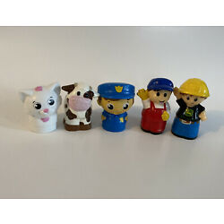 Kyпить Lot of 5 Mega Bloks First Builders Replacement People Figures Animals John Deere на еВаy.соm