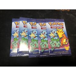 Kyпить 2021 McDonald's Pokemon 25th Anniversary Trading Cards Happy Meal Packs x5 на еВаy.соm