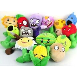 Kyпить Plants vs zombies plush dolls 14pcs Set Plants vs Zombies Toys  на еВаy.соm