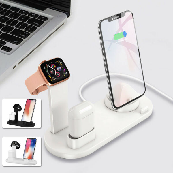 Deutschland3 in1 Charger  Ladegerät für Android iPhone / Apple Watch / Touch d