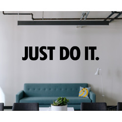Nike Just Do it Wall Decal Swoosh Logo Decals Sticker