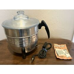 Kyпить Vintage Dominion Electric 4 Qt  Aluminum Model 1702 Electric Corn Popper  на еВаy.соm