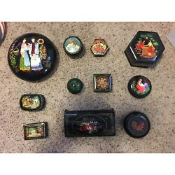 Kyпить Individual Russian Palekh and other lacquer boxes на еВаy.соm