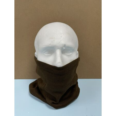 img-Vintage Bulgarian Army Snood Neck Warmer Scarf Roll Gaitor Military Thermal UK