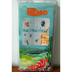 FINDING NEMO Disney wall stickers Self-Stick 26 decals Fish Dory New in Package
