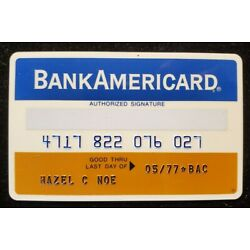 Kyпить Rocky Mountain BankAmericard exp 1977♡free ship♡cc1876♡ на еВаy.соm
