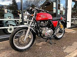 ROYAL ENFIELD CONTINENTAL GT 2013 RED 777 MILES NICE EXTRA'S
