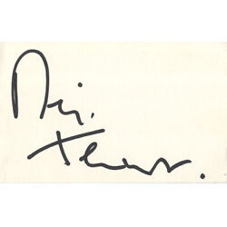 Kyпить Neil Tennant - English Singer & Songwriter 'The Pet Shop Boys' I/P Signed Card. на еВаy.соm