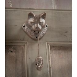 Kyпить Victorian Trading Co Cat And Mouse Door Knocker на еВаy.соm