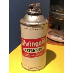 Kyпить Vtg. Rheingold Breweries Extra Dry Lager Beer Can Cigarette Lighter 12 Oz. Cone на еВаy.соm