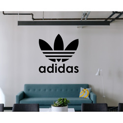 Adidas Logo Wall Decal Home Gym Store Decals Sticker