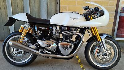Triumph Thruxton 1200R, 2017, 135 Miles, Immaculate Condition, 1 Owner