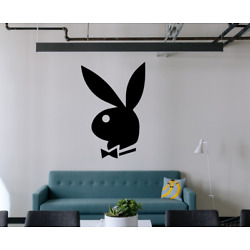 PLAYBOY BUNNY Wall Decal Home Gym Store Decals Sticker