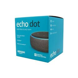 Kyпить Amazon Echo Dot 3rd Generation 3rd Gen with Alexa Voice Smart Speaker Charcoal на еВаy.соm
