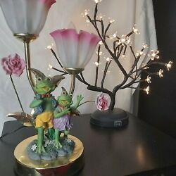 Kyпить Vintage Style Frog Touch Activated Table Lamp на еВаy.соm
