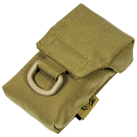 img-FLYYE iCOMM POUCH iPHONE COVER CAMERA PHONE CASE CORDURA AIRSOFT MOLLE KHAKI
