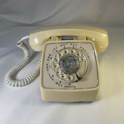 Kyпить Vintage GTE Automatic Electric Rotary Dial Desk Phone Model 80 - Working на еВаy.соm