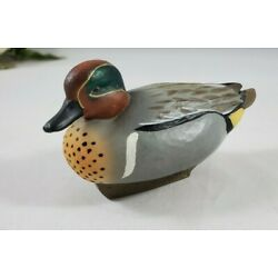 Kyпить Jett Brunet Ducks Unlimited Miniature Decoy Green Wing Teal 2005 на еВаy.соm