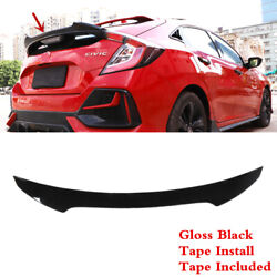 Fit For Honda Civic Hatchback 2017-2021 Tailgate Trunk Lip Middle Spoiler Wing
