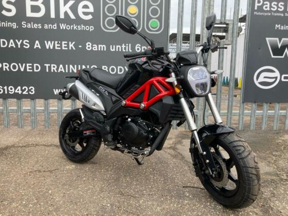 WK BIKES COLT 125 - 125cc Geared Motorcycle - New 2021 Model Now In Stock