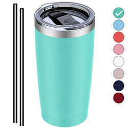 20oz Stainless Steel Tumbler Double Wall Vacuum Insulated Cup Travel Drink Mug