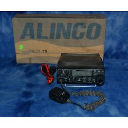 Kyпить HAM Alinco HF Transceiver DX-70 with 12v DC Power cord, with box, works на еВаy.соm